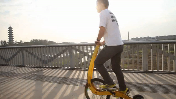 Stand up Bike Running Bike Half Bike Foldable Bike