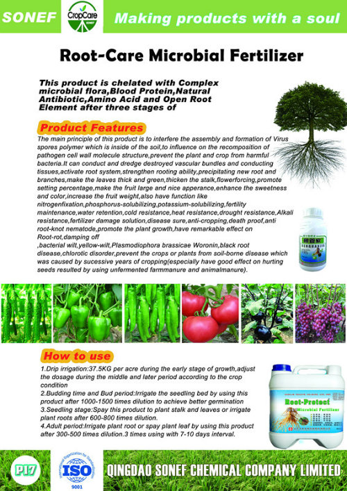 Root Promoter Anti-Disease Microbial Fertilizer