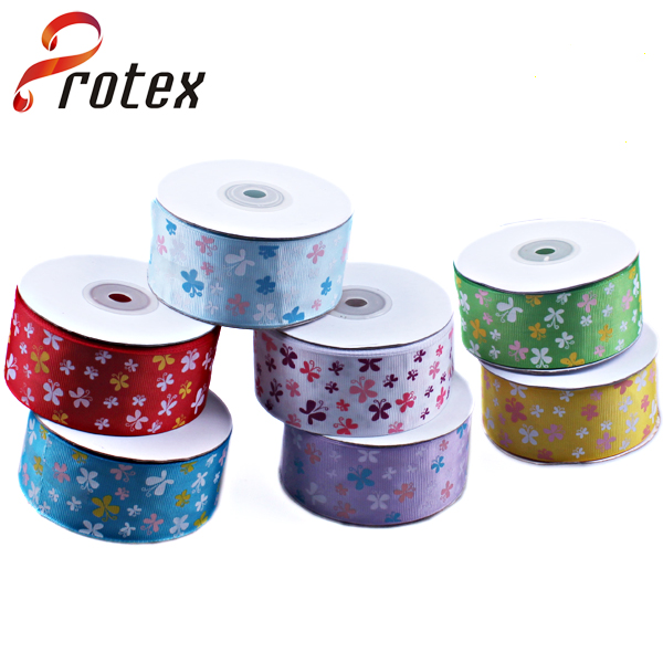 Colourful Butterfly Printed Ribbon