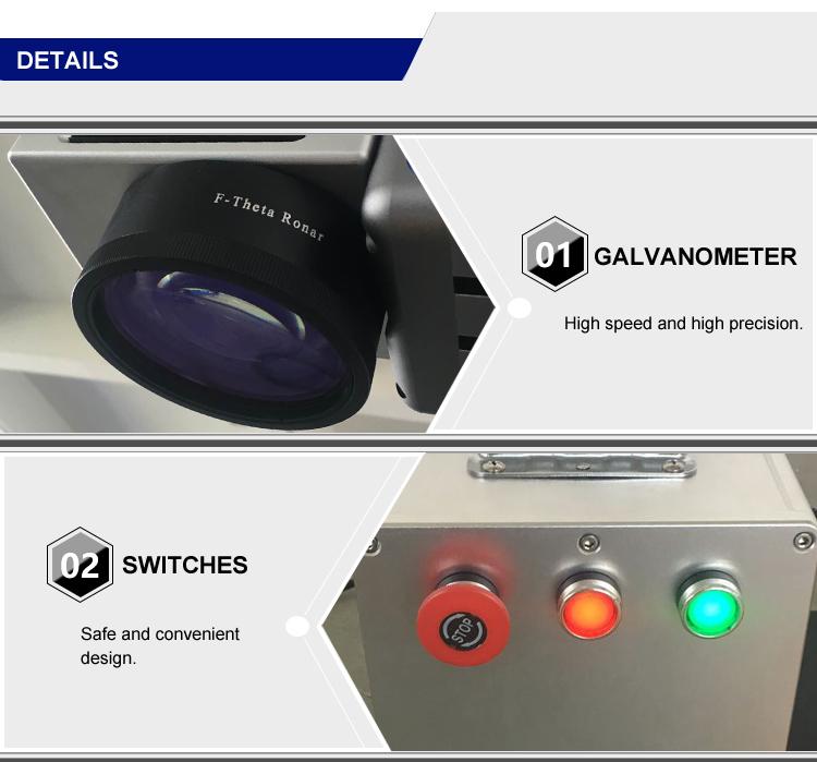 Hot Stamping Date Coding Laser Marking Machine