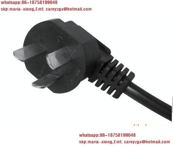 Australia SAA 3pin 2 Pin Plug, Power Cord