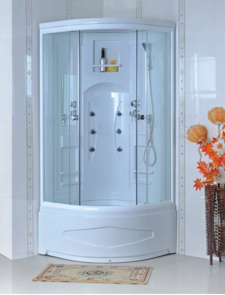 ABS Bath Cabin with 5mm Tempered Glass (LTS-681-B)