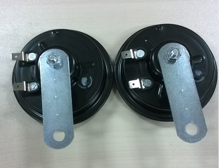 Red Copper Coil Car Speaker Bosh Horn Auto Parts Disc Horn