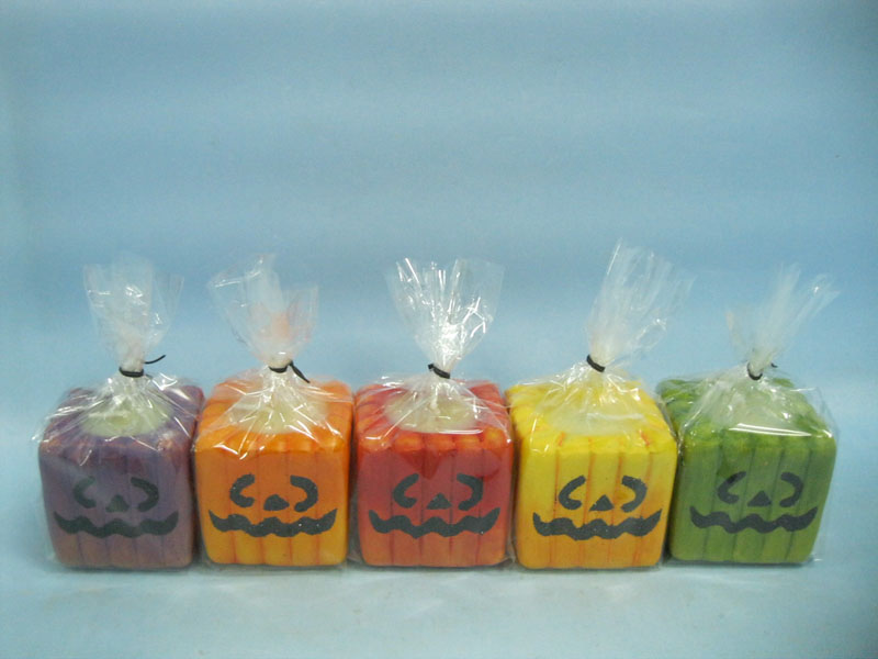 Halloween Candle Shape Ceramic Crafts (LOE2372A-5z)