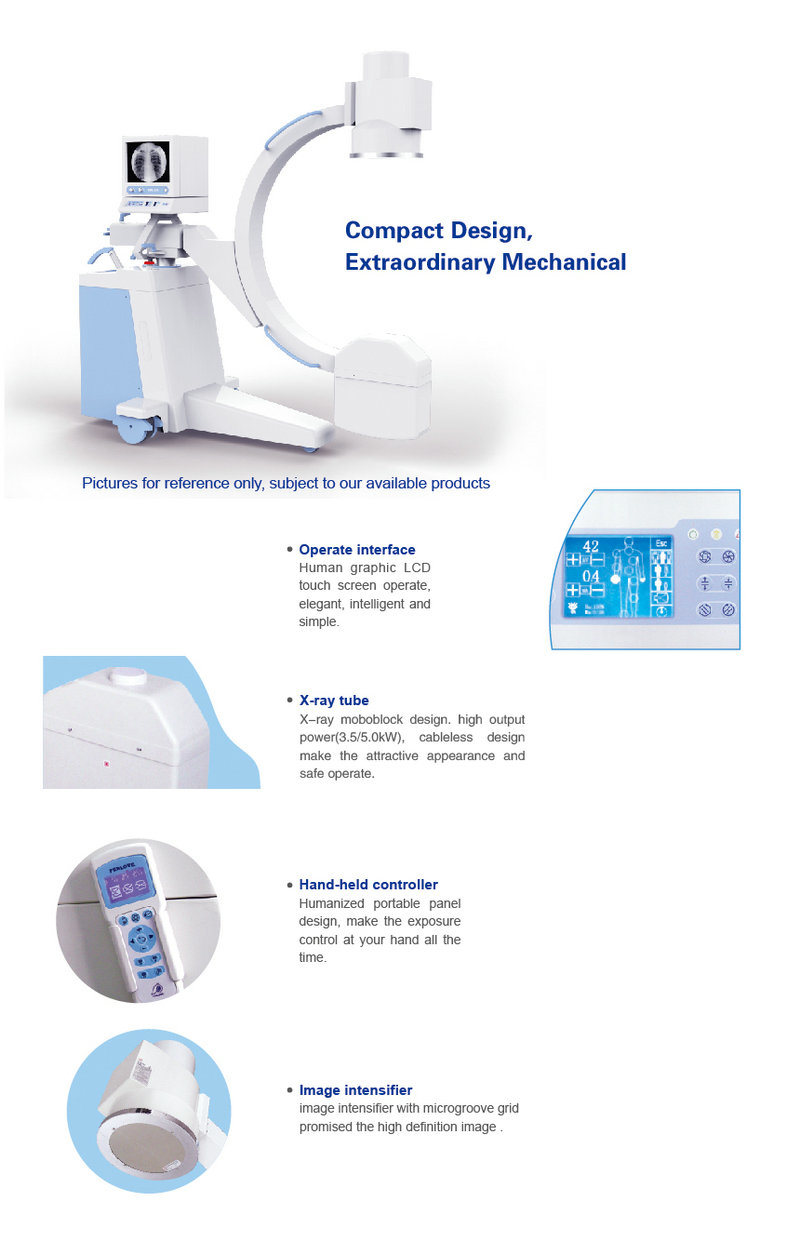 Bargain X Ray Surgical Machine with LCD Touch Screen