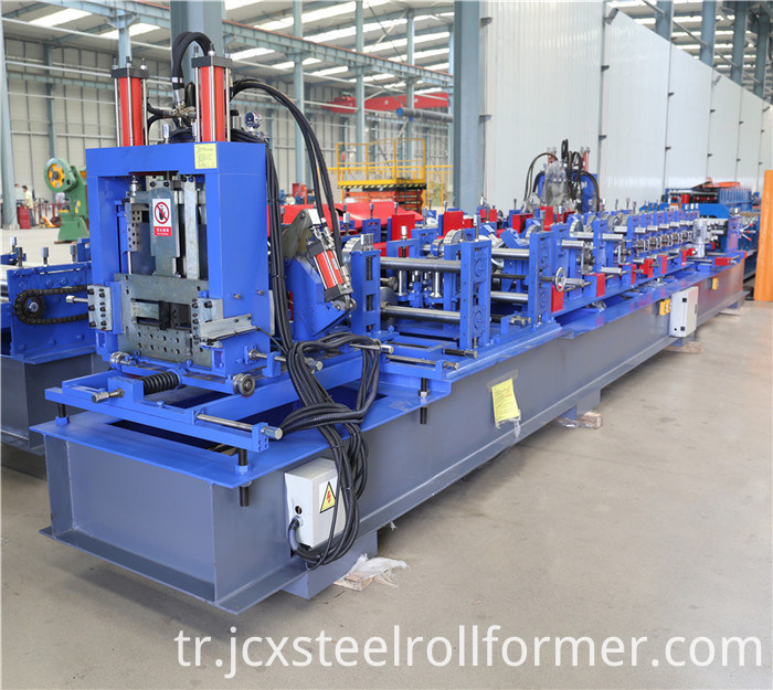 Quick Change Size C Z Steel Frame Purlin Forming Machine