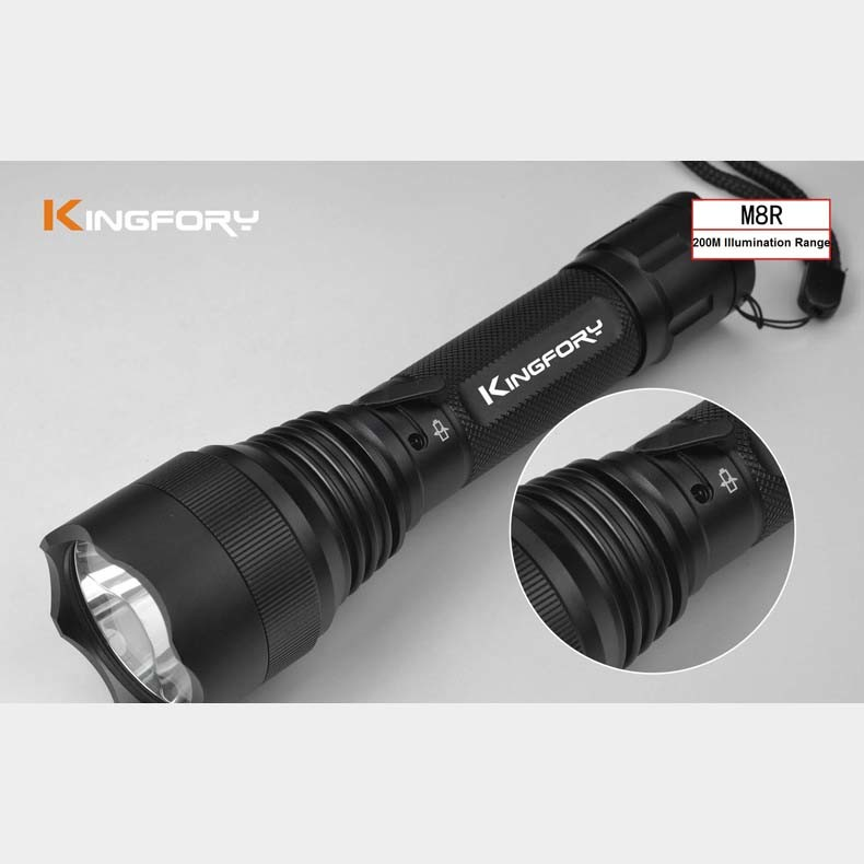 Rechargeable 18650 Waterproof LED Tactical Flashlight Torch