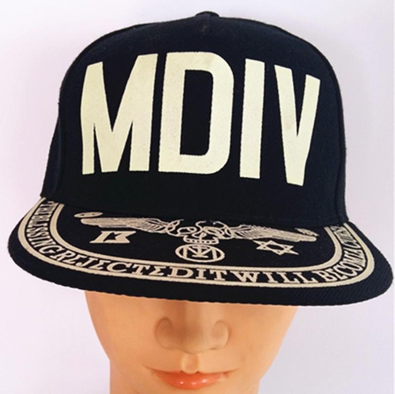 Flocking Printing Cap Hip-Hop Cap Urban Fashion Hats