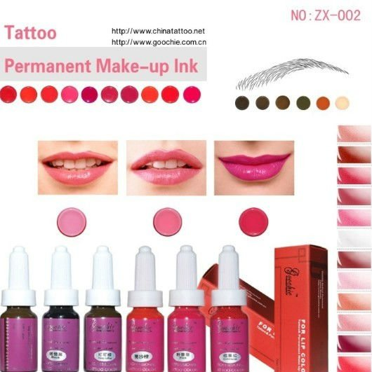 Cosmetic Natural Tattoo Ink (ZX34)