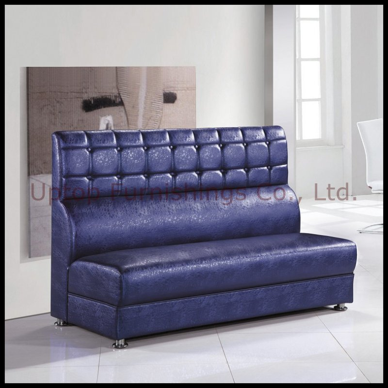 Luxury PU Leather Booth Restaurant Sofa (SP-KS100)