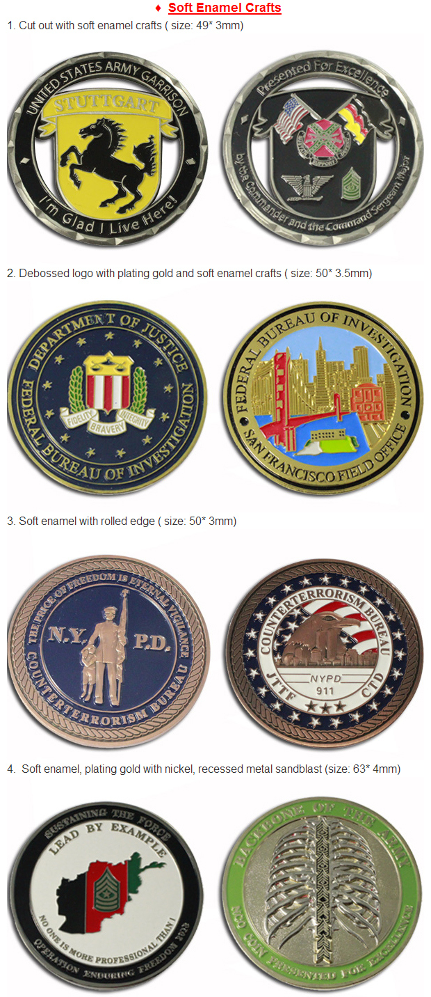 Metal Material and China Regional Feature Cheap Challenge Coins