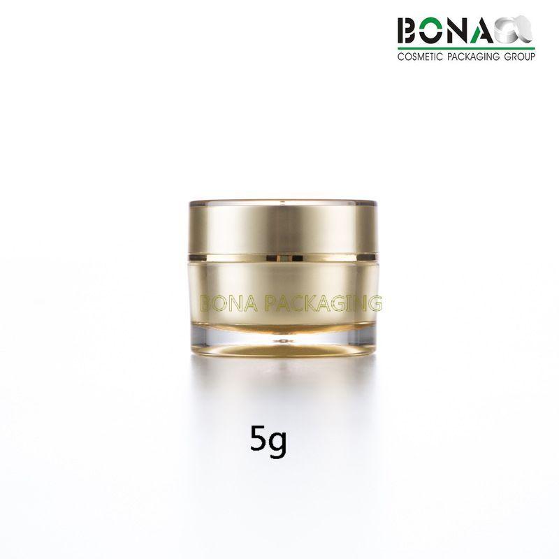 5g Small Jar Acrylic Jar Plastic Jar Cosmetic Packaging for Gift Jar