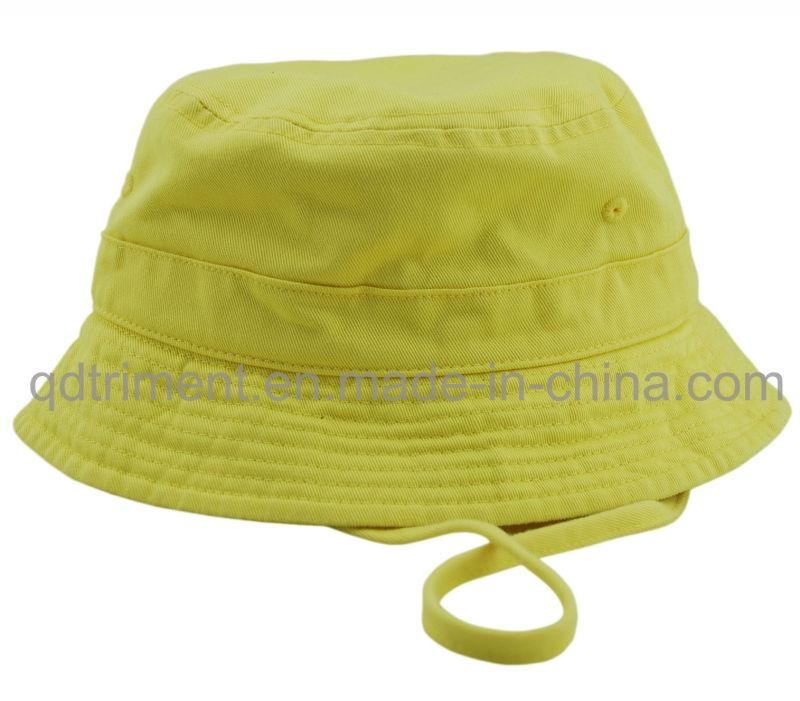 100% Polyester Microfiber Outdoor Leisure Fisherman Bucket Hat (TMBH0705)