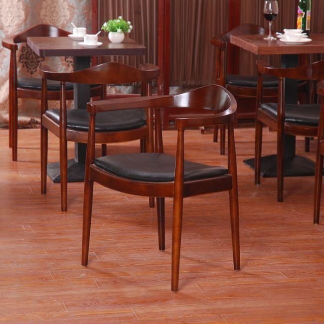 Nordic Design Wooden Furniture Solid Wood Dining Chair