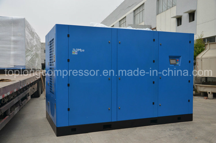 Two Stage 3MPa Rotary Screw Compressor
