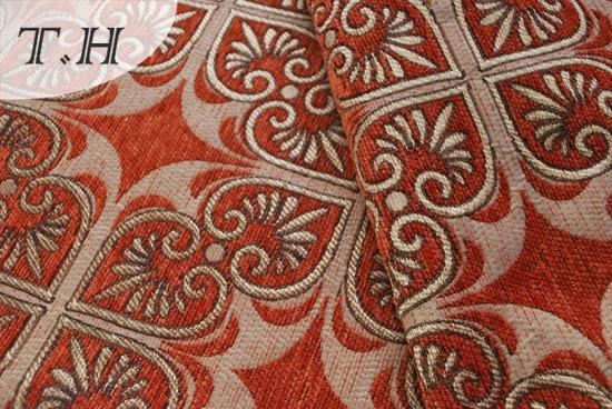 Chenille Jacquard Sofa Fabric Manufacture in Haining