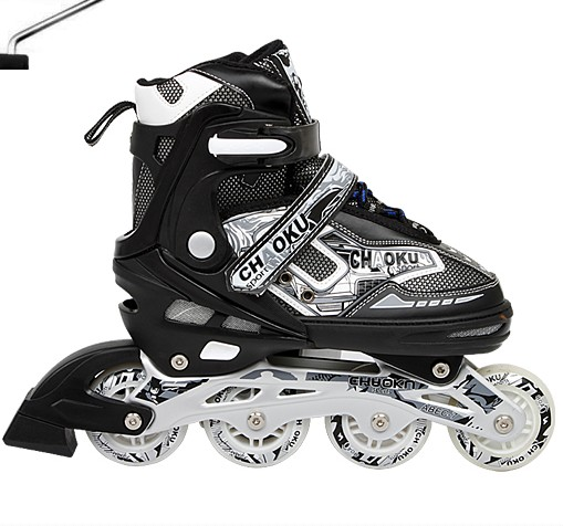 CE Approved Inline Skate Shoes Adjustable Size