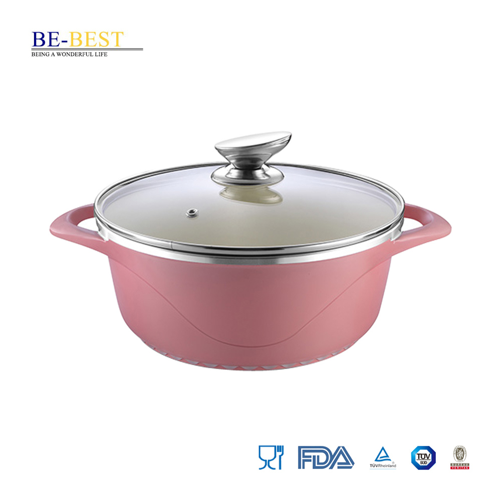Die-Casting Aluminum Casserole Pot Cookware