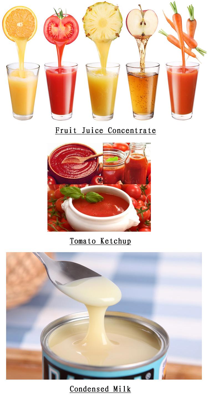 Shjo High Efficient Vacuum Juice Ketchup Processing Machine Concentrator Evaporator Fruit Juice Falling Thin Film Evaporation
