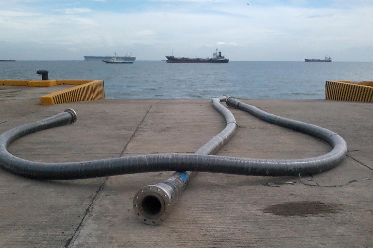 Dock Oil Discharge Hoses with Flange ISO