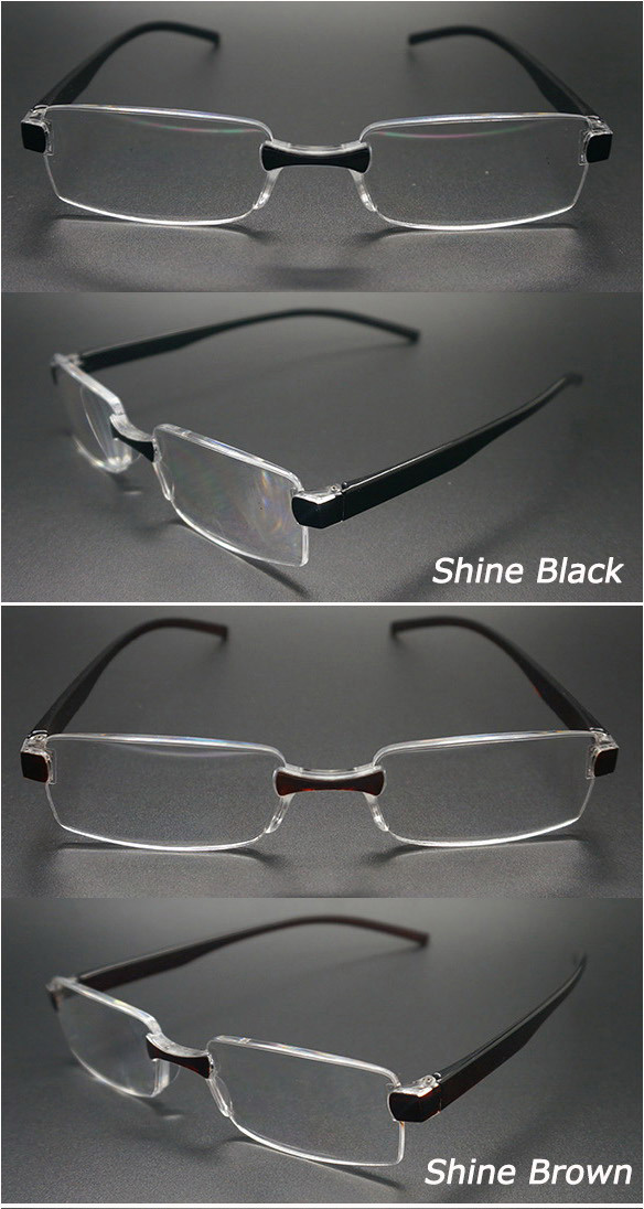 2015 Latest Fashion One-Piece Lens Reading Glasses (WRP504201)