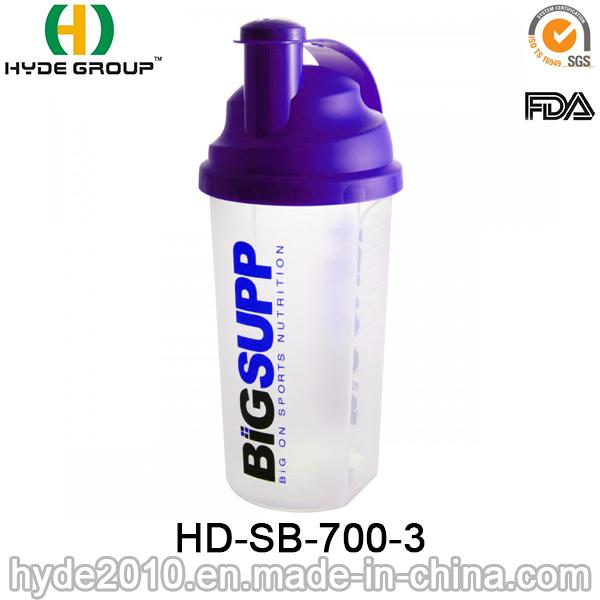 700ml Customized Protein Shaker Bottle (HD-SB-700-3)