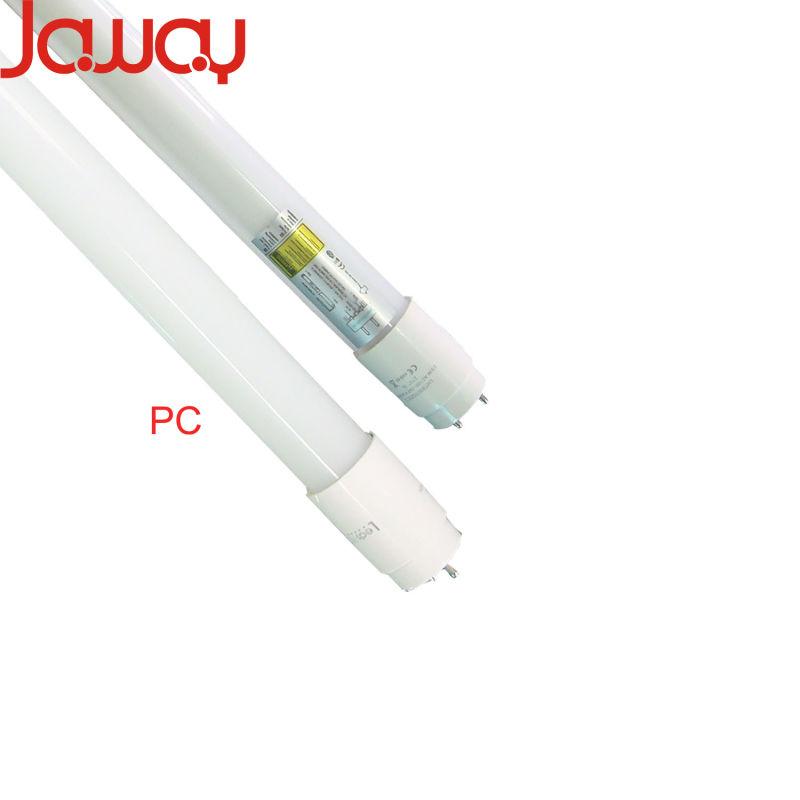 9W/14W/18W/24W 100lm/W PC or Nano T8 LED Tube Light with 2 Year Warranty