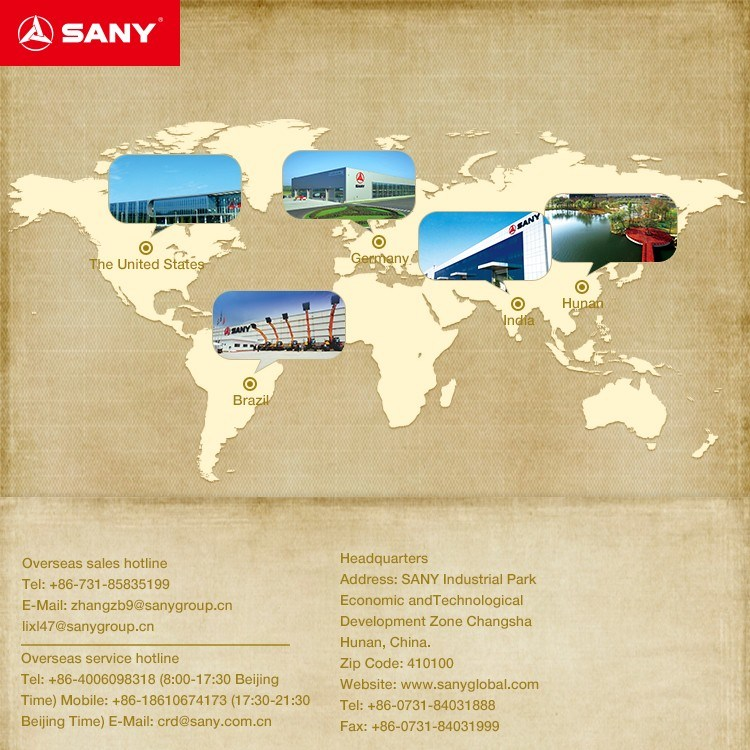 Sany Sy412c-8 12 Cubic Meters Mobile Concrete Mixer Truck Prices