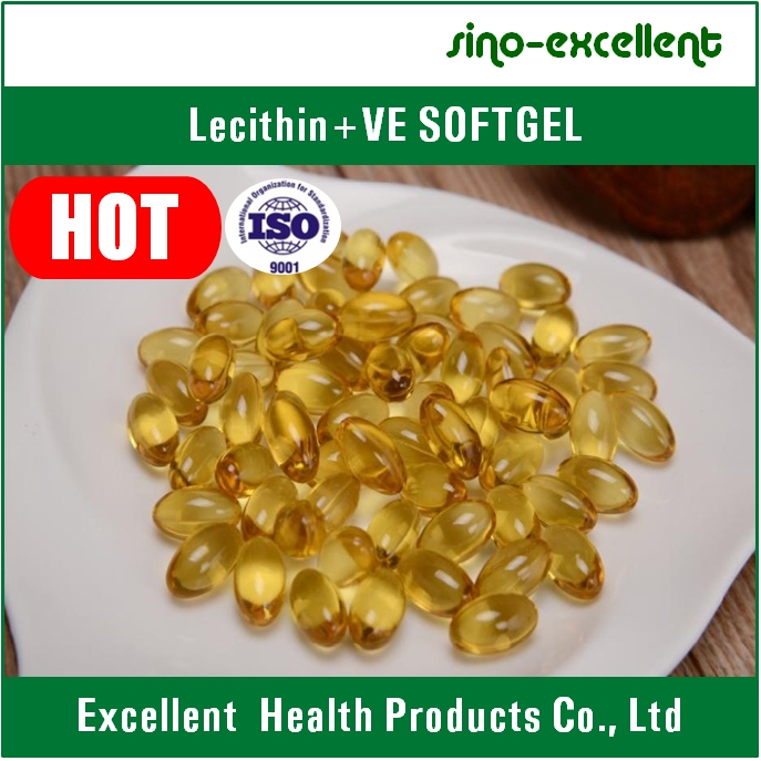 Lecithin + Vitamin E Softgel
