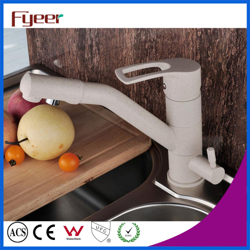 Fyeer Granite Paint 3 Way Kitchen Sink Faucet