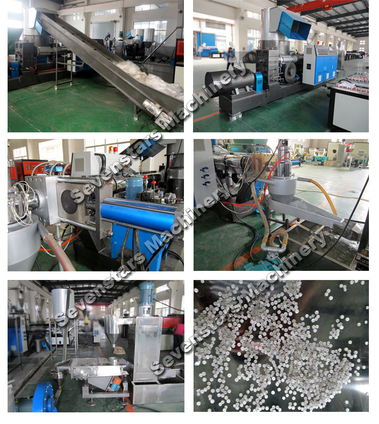PP PE Plastic Granulating Machine with 10 Years Experience