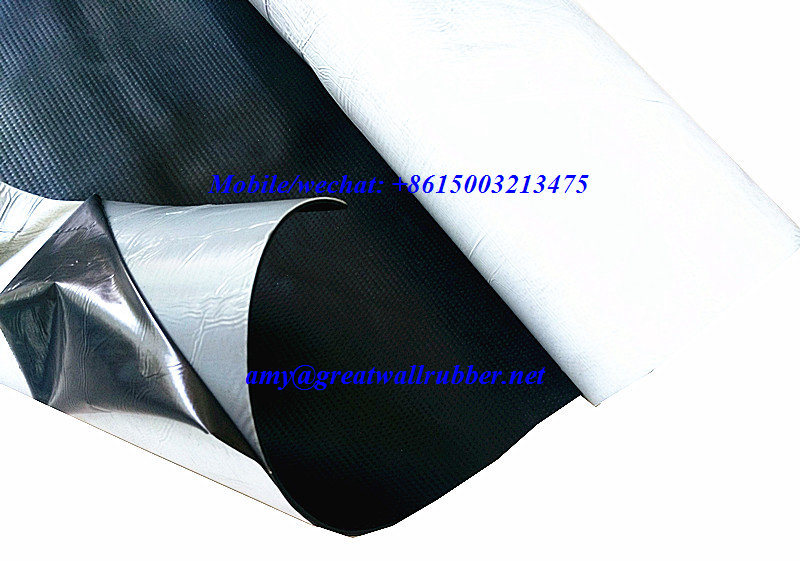 EPDM Waterproof Roll Rubber Sheet Roofing Membrane Building Material