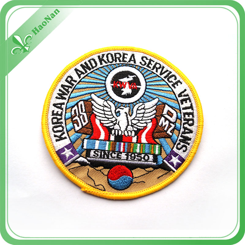 Fabric Woven High Quality 100% Polyester Embroidery Patch