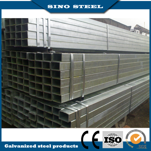Q195 ERW Carbon Square Steel Pipe for Building Material