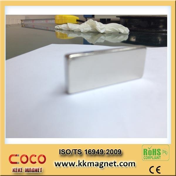 Stong Block Neodymium Magnet Brushless Motor, Block Magnet 100X10X10 100X10X4