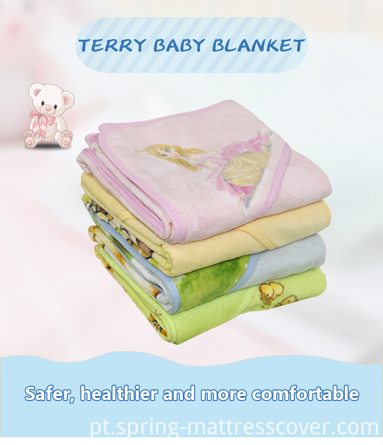 Printed Terry kid Blanket