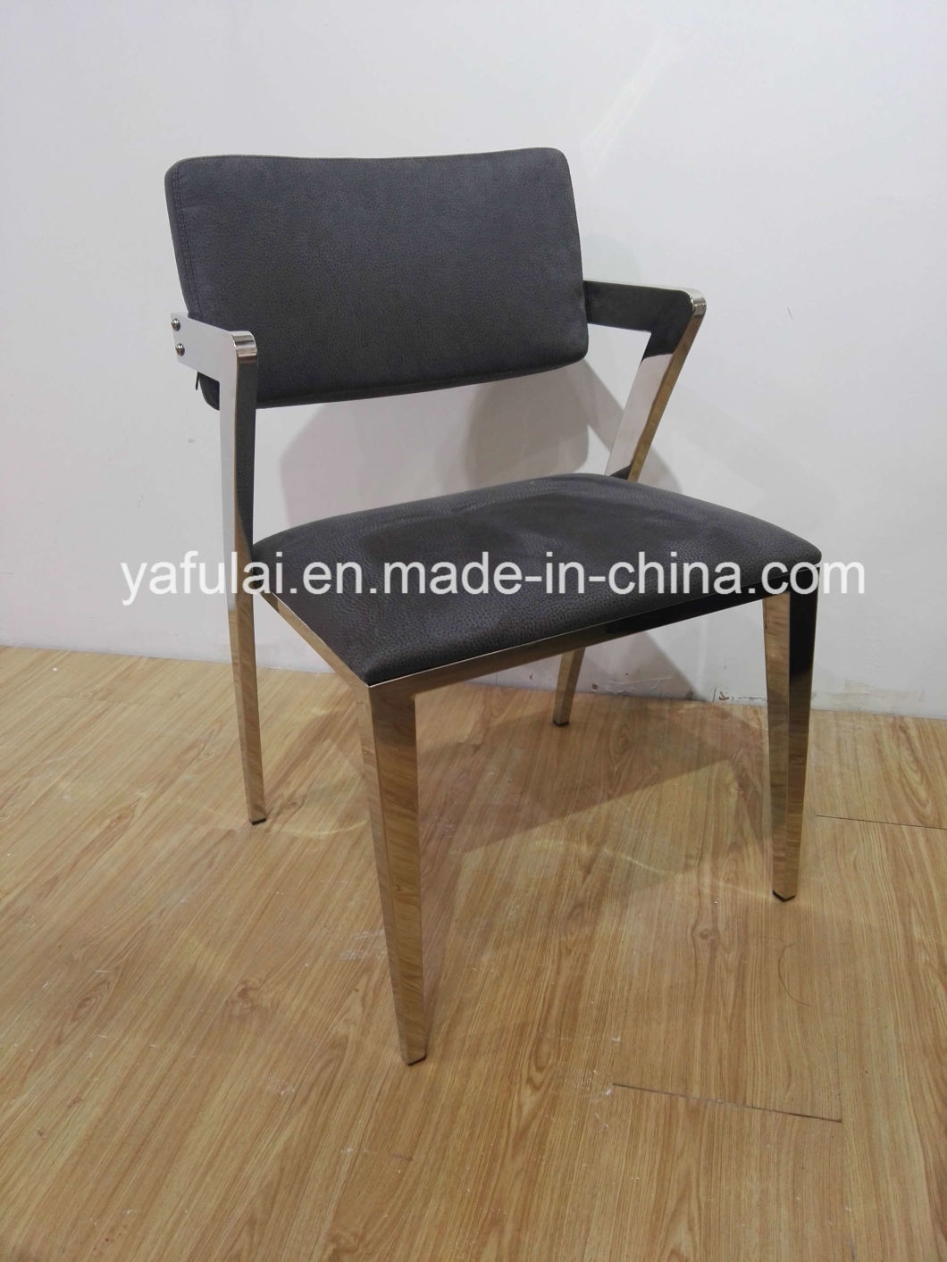 Hot Sale Factory stainless Steel Dining Chair OEM Dining Furniture