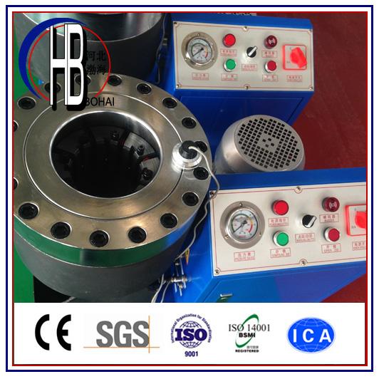 Big Discount China Factory Professional Manufacture Hydraulic Hose Swaging Machine!