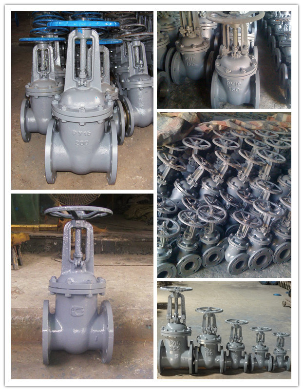 GOST 6 Inch Cast Iron Water Gate Valve 30CH6br