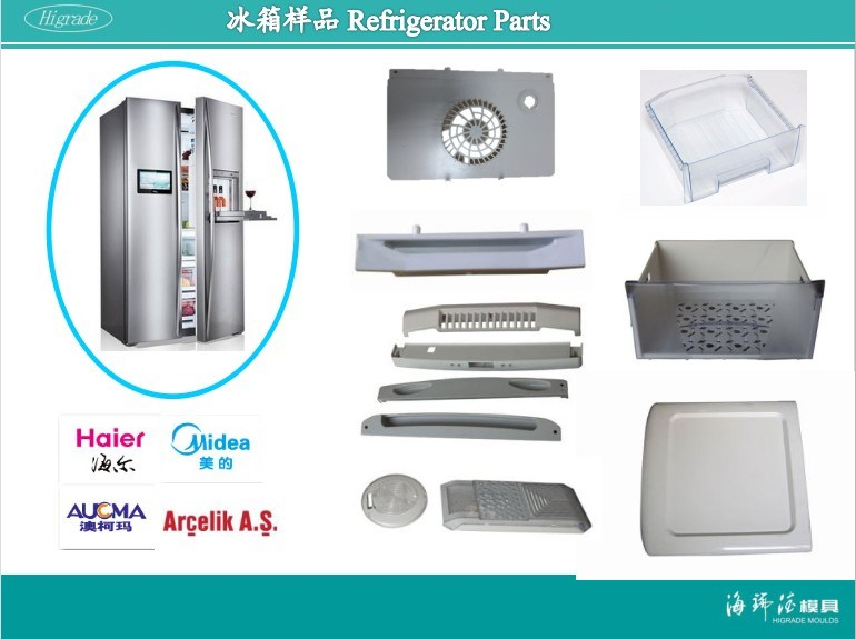 Refrigerator Metal Stamping Die for Home Appliance (A0316015)