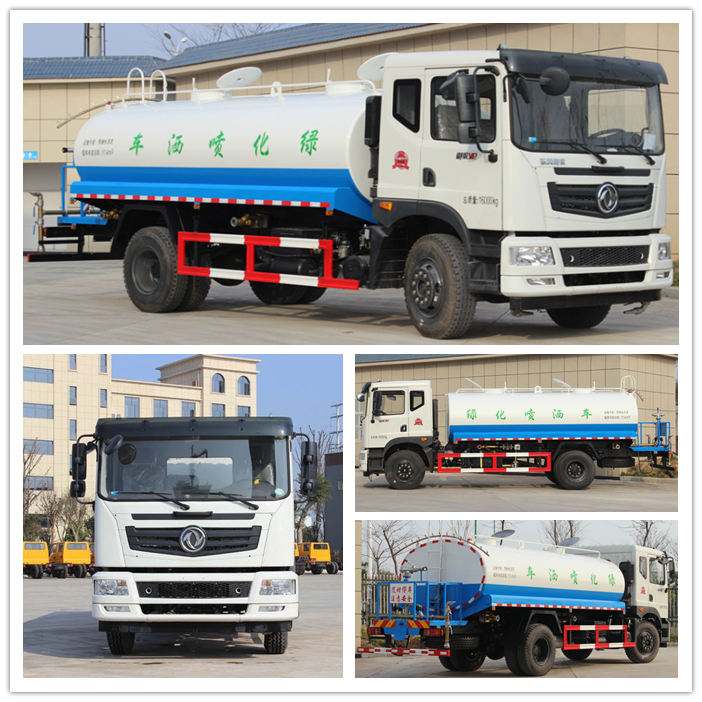 China New 4X4 Sprinkling 10000 Liter Water Tank Spray Truck