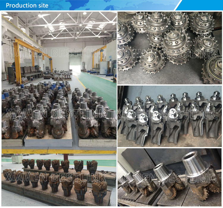 Rubber or Metal Sealed TCI Tricone Bit for Mining