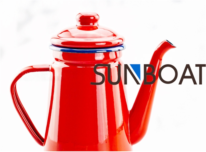 Top Selling Multicolor Enamel Teapot with Cover
