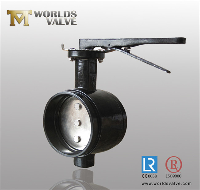 Grooved end connection butterfly valve china manufacturer