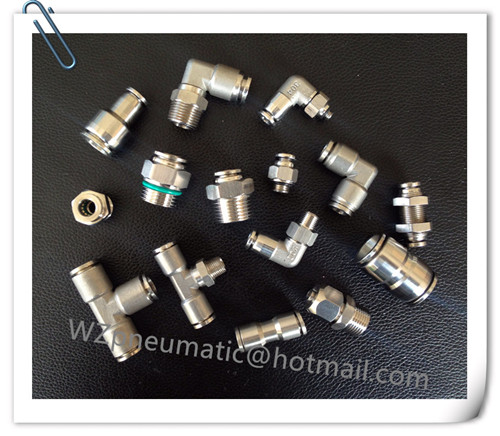 Stainless Steel Push-in Fitting Straight