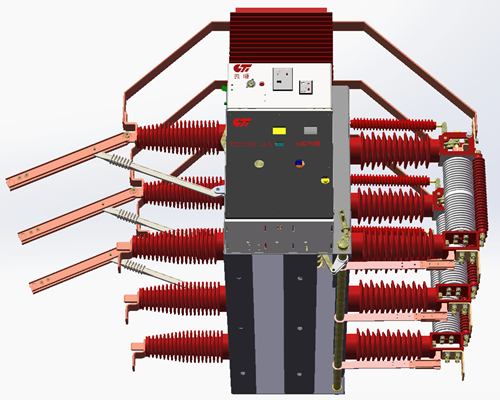 Yfgzn35vd-40.5-Vacuum Circuit Breaker with Disconnector