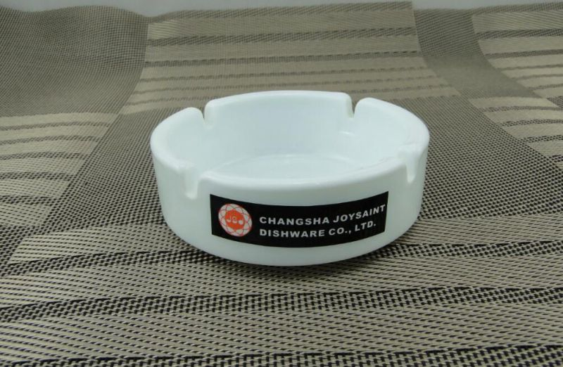 Opal Glass Ashtray