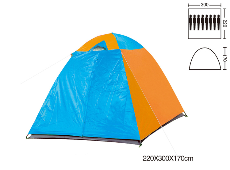 ISO Standard Polyester 8 Persons Tent