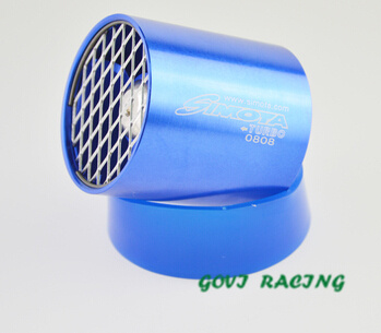 Air Intake Turbine Turbocharge with Dual Spaer Parts Supercharge 7.5*6.5cm