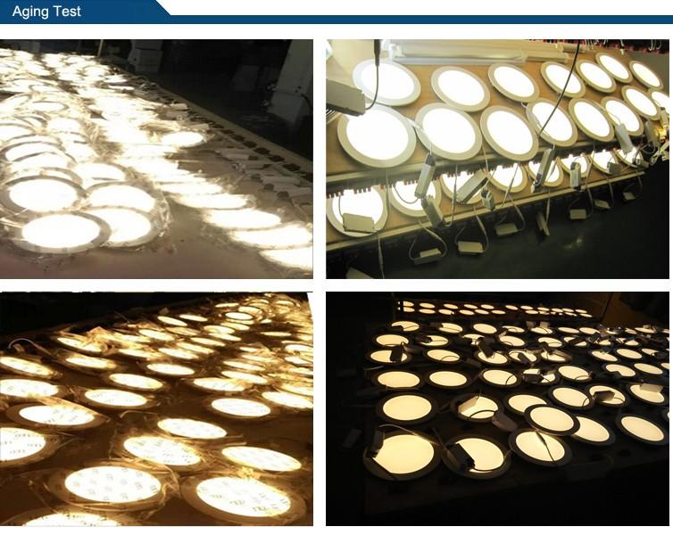 Epistar Embedded LED Panel 6W 12W 18W 24W Slim Dimmale Ceiling
